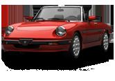 Alfa Romeo Spider Convertible 1983