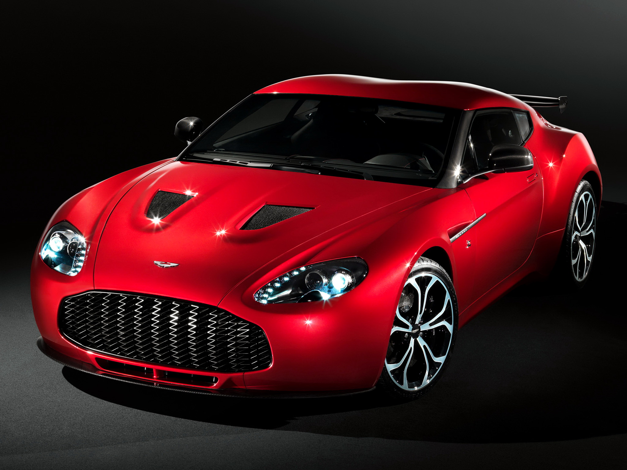 tuning aston martin v12 zagato coupe 2012 , accessories and