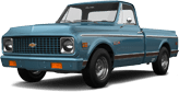 Chevrolet C-10 Cheyenne 2 Door pickup truck 1972