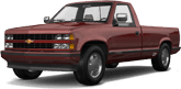 Chevrolet K1500 Regular Cab Fleetside Pickup 1988
