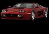 Ferrari 512 TR Coupe 1991