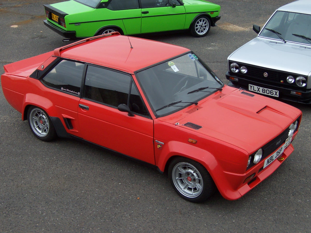 3dtuning Of Fiat 131 Abarth Coupe 1976 3dtuning Com