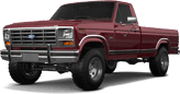 Ford F-150 2 Door pickup truck 1986