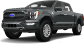 Ford F-150 SuperCrew 4 Door pickup truck 2021