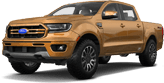 Ford Ranger 4 Door pickup truck 2019