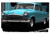 GAZ 21 Volga Sedan 1962