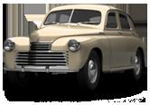 GAZ M20 Pobeda Fastback 1950