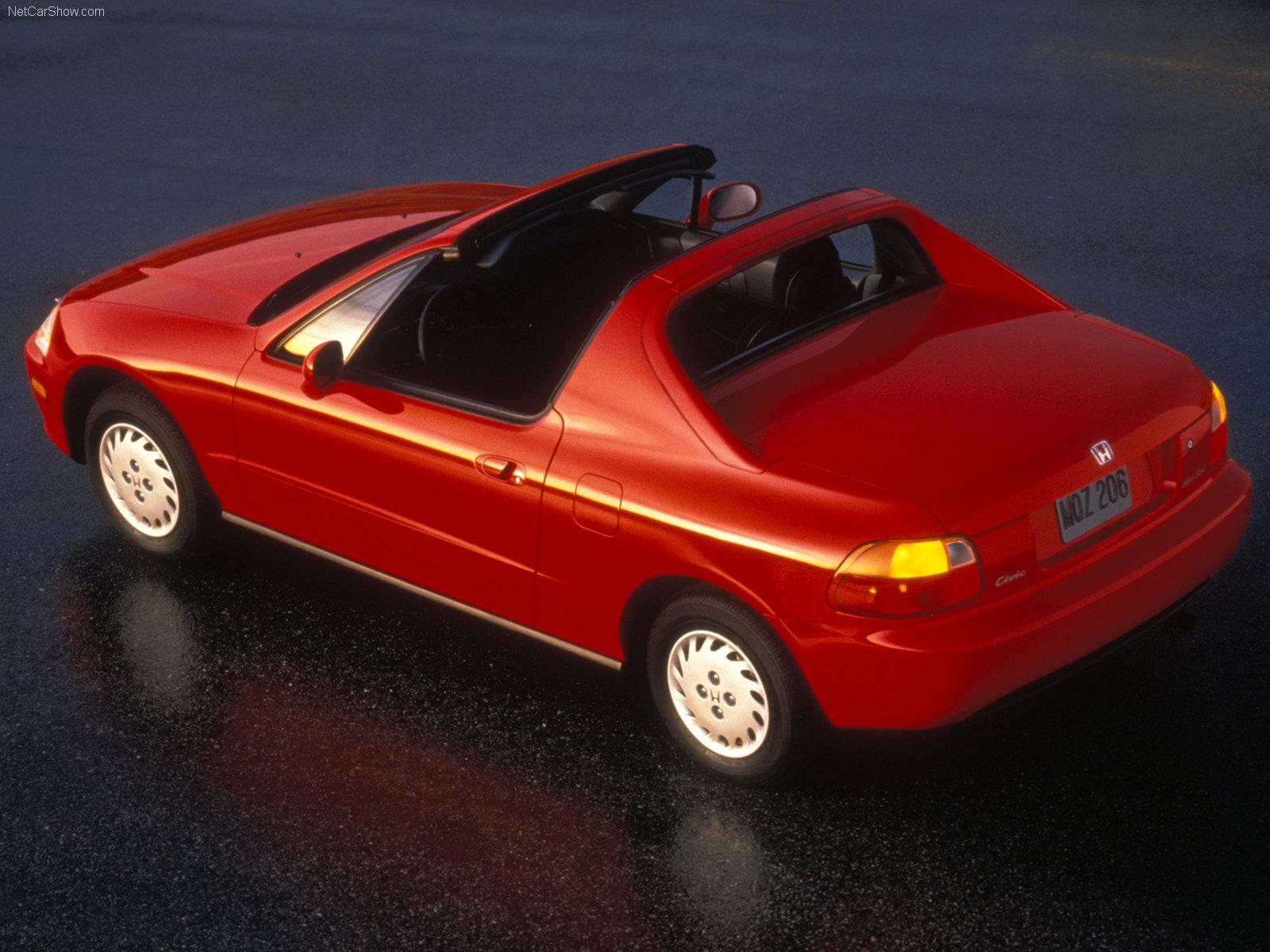 honda cr x del sol sir coupe 1995