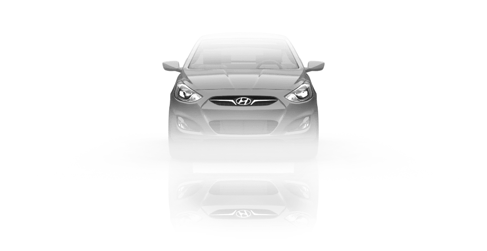 Hyundai Accent 5 Door Hatchback 2012