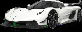 Koenigsegg Jesko 2 door targa top 2020