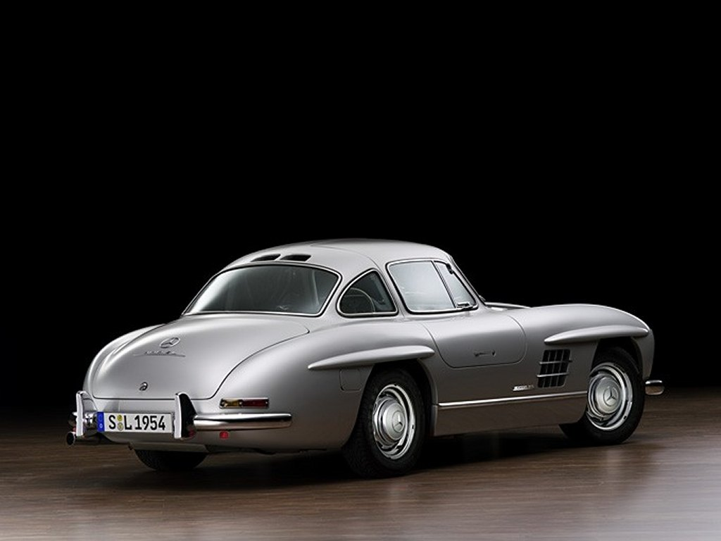 3dtuning of mercedes 300sl convertible 1954 for Mercedes benz sl coupe