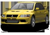 Mitsubishi Lancer Evo VII sedan 2001