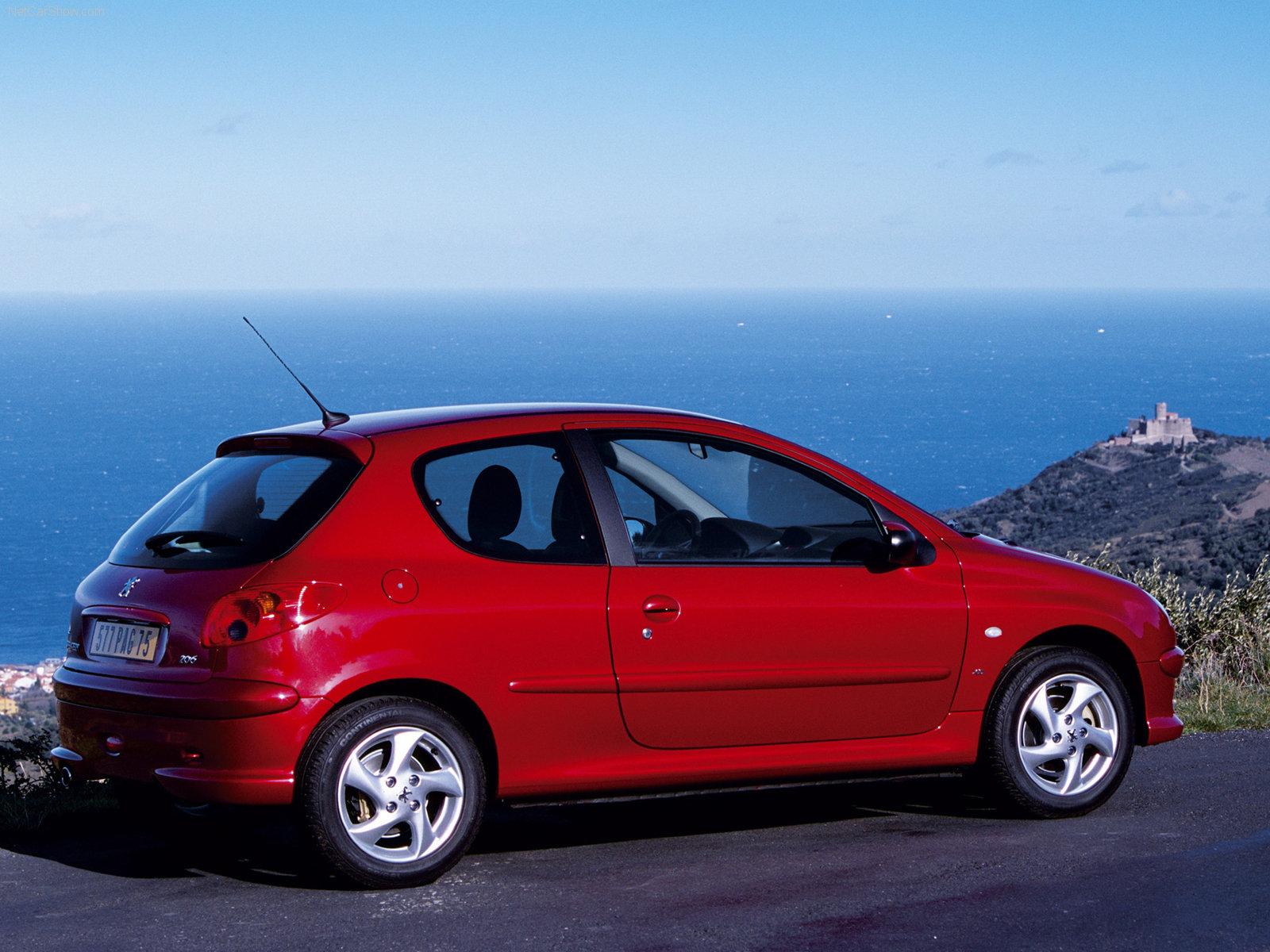 3DTuning of Peugeot 206 3 Door Hatchback 1998 3DTuning.com ...