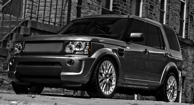 My Perfect Range Rover Discovery 4 3dtuning Probably