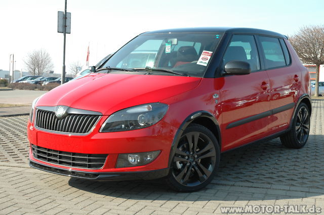 Skoda Fabia 5 Door Hatchback 2011