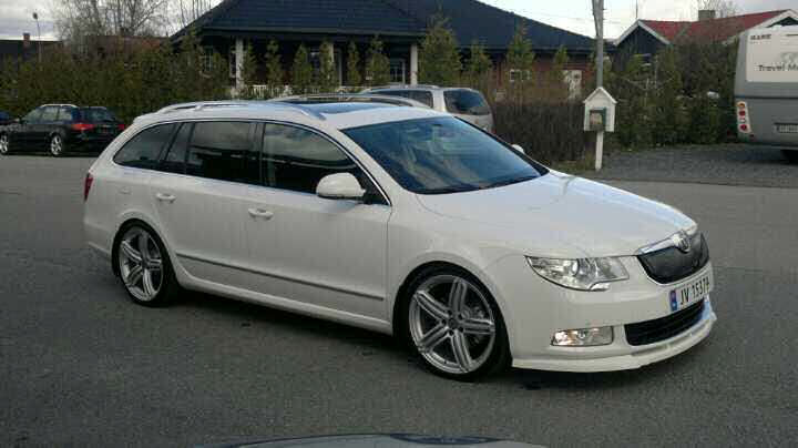 my perfect skoda superb 3dtuning probably the best car. Black Bedroom Furniture Sets. Home Design Ideas