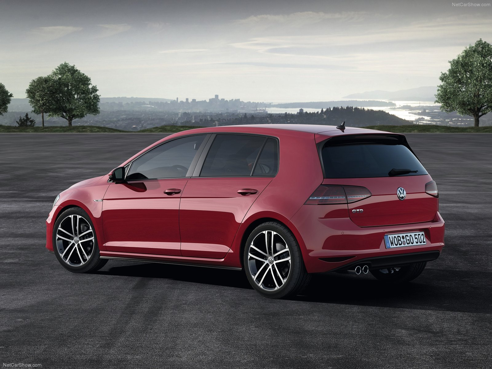 Volkswagen Golf 7 5 Door Hatchback 2014