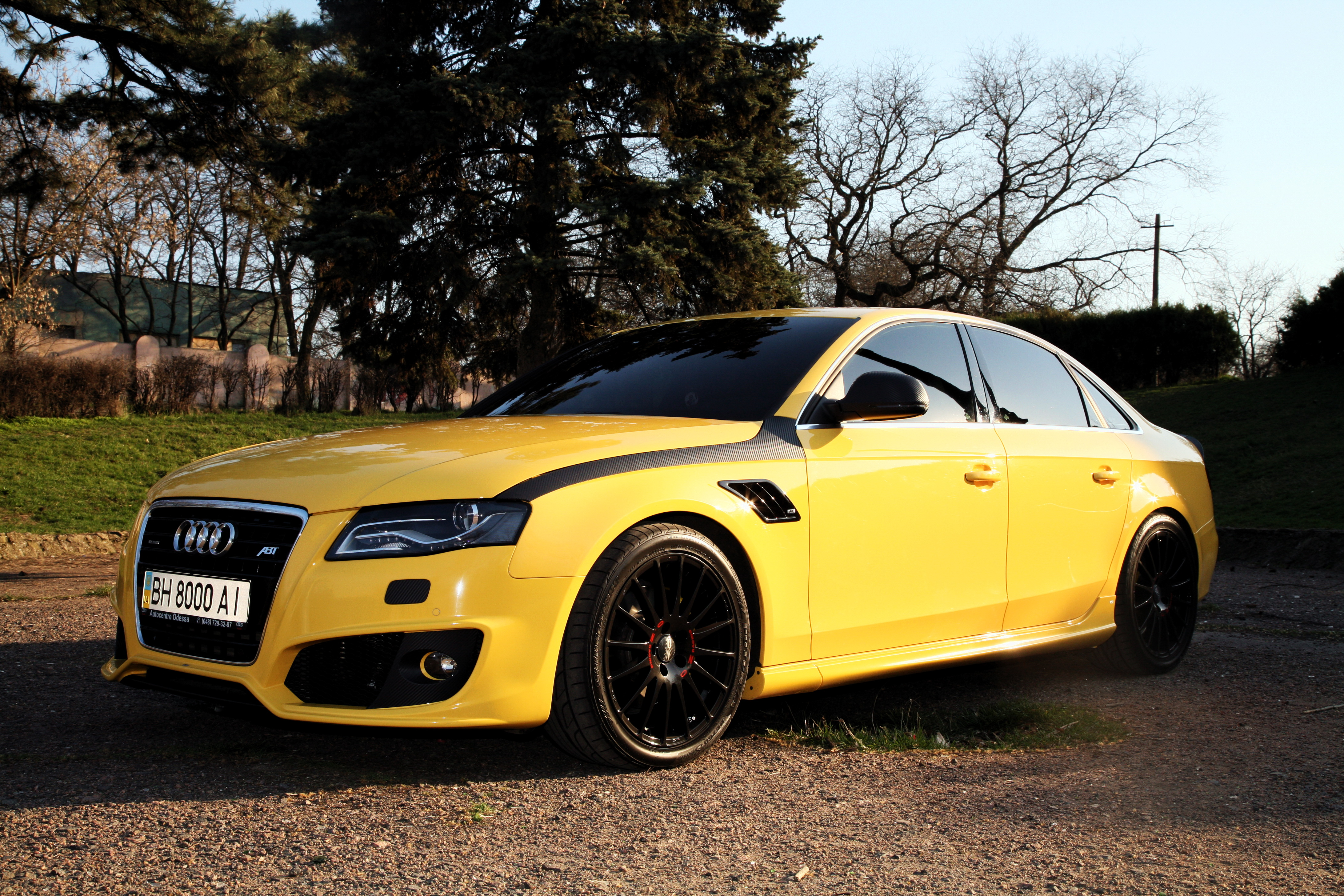 Fantastyczny My perfect Audi A4. 3DTuning - probably the best car configurator! JQ13