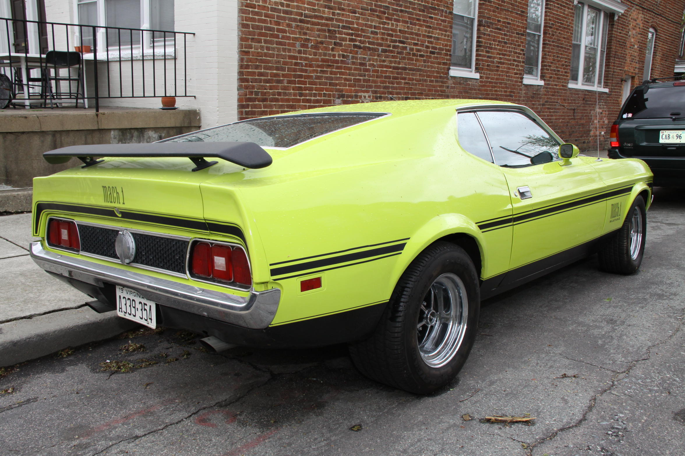 mustang mach 1 coupe 1971